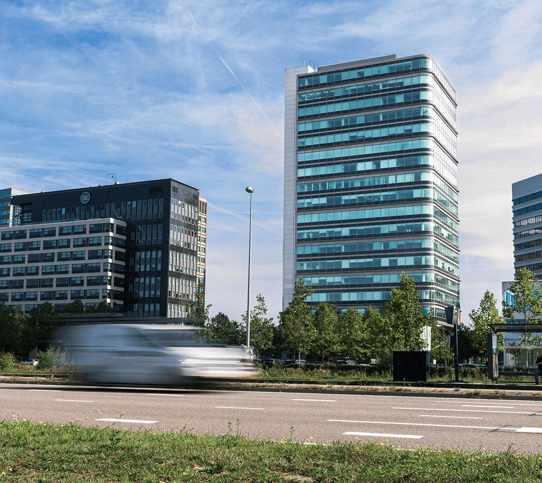 Het gebouw de Entree 2