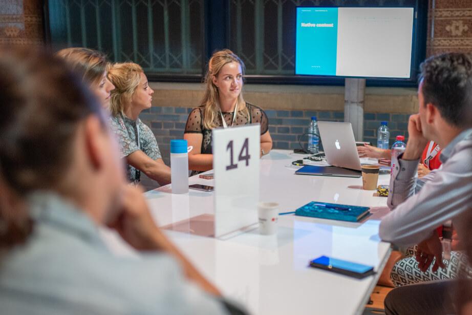 Workshop social media met Eva van der Niet